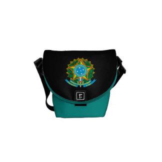 ブラジルの紋章付き外衣 クーリエバッグ