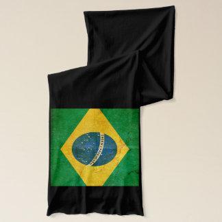 ブラジルの綿の覆いのスカーフのモダンな旗 スカーフ