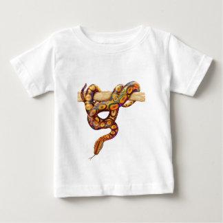 ブラジルの虹のボア ベビーTシャツ
