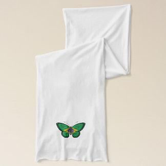 ブラジルの蝶旗 スカーフ