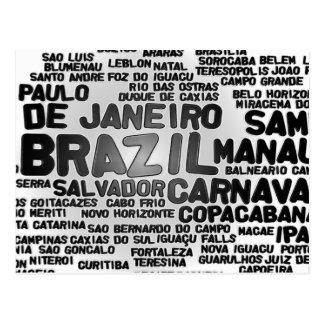 ブラジルの郵便はがき ポストカード