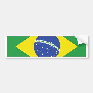 ブラジルの高品質な旗 バンパーステッカー