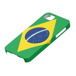 ブラジルのiPhone 5の場合の旗 iPhone SE/5/5s ケース