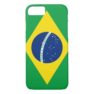 ブラジルのiPhone 7の場合の旗 iPhone 8/7ケース
