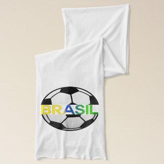 ブラジルのLaのSeleçaoの球のワイシャツ スカーフ