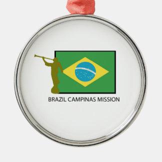 ブラジルカンピナスの代表団LDS メタルオーナメント
