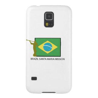 ブラジルサンタマリアの代表団LDS GALAXY S5 ケース