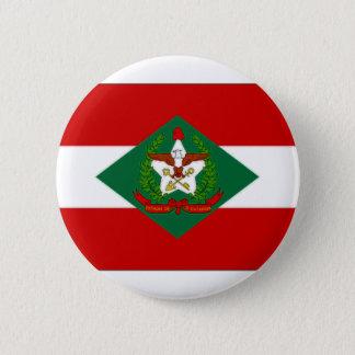 ブラジルサンタ・カタリナの旗 缶バッジ