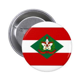 ブラジルサンタ・カタリナの旗 5.7CM 丸型バッジ