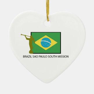 ブラジルサンパウロの南代表団LDS セラミックオーナメント