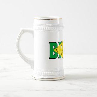 ブラジルステイン ビールジョッキ