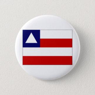 ブラジルバイアの旗 缶バッジ