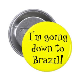 ブラジルボタン 5.7CM 丸型バッジ