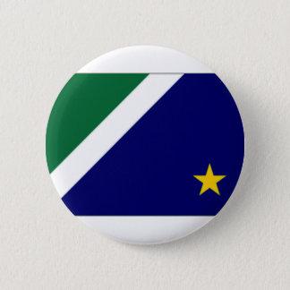 ブラジルマットグロッソ・ド・スル州の旗 缶バッジ