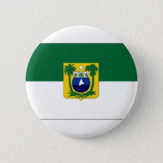 ブラジルリオグランデ・ド・ノルテ州の旗 缶バッジ