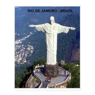 ブラジルリオデジャネイロイエス・キリスト(新しい) (St.K) ポストカード