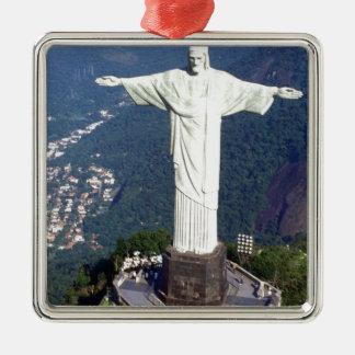 ブラジルリオデジャネイロイエス・キリスト(新しい) (St.K) メタルオーナメント
