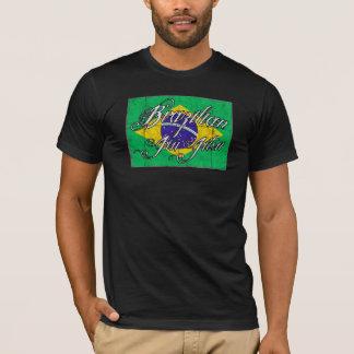 ブラジル人のJiu Jitsuのティー-決め付けられるFF Tシャツ