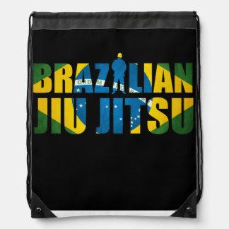 ブラジル人のJiu Jitsuのロゴのギアのバッグ ナップサック