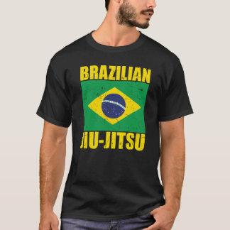 ブラジル人のJiu Jitsuの旗 Tシャツ