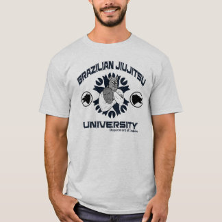 ブラジル人のJiuJitsu大学ワイシャツ Tシャツ