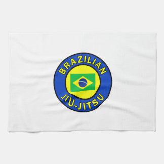 ブラジル人Jiu Jitsu キッチンタオル
