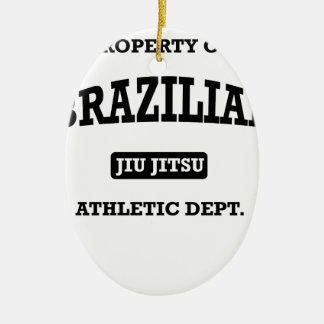 ブラジル人Jiu Jitsu Atheltic Departmenの特性 セラミックオーナメント
