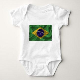 ブラジル旗 ベビーボディスーツ