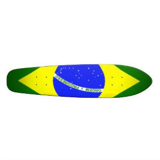 ブラジル旗 18.7CM ミニスケートボードデッキ