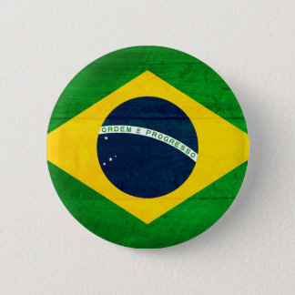 ブラジル木旗 缶バッジ