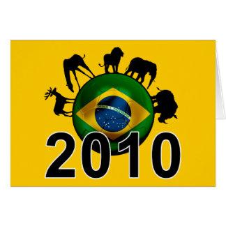 ブラジル2010年 カード