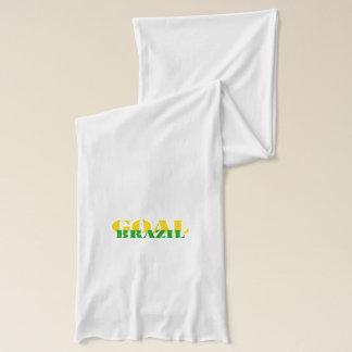 ブラジル-ゴール スカーフ