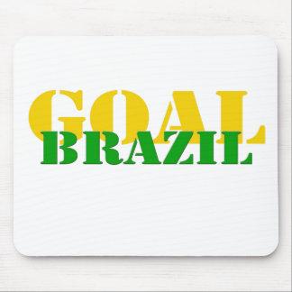 ブラジル-ゴール マウスパッド