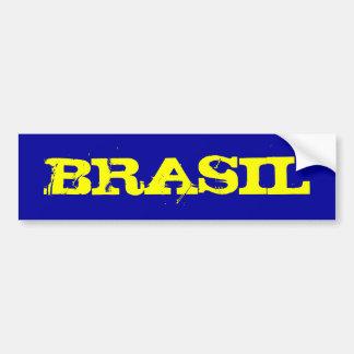 ブラジル バンパーステッカー