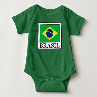 ブラジル ベビーボディスーツ