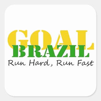 ブラジル-操業懸命は速く走ります スクエアシール