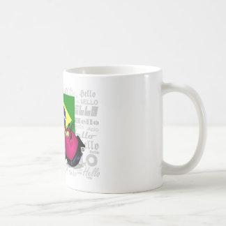 ブラジル- Ola コーヒーマグカップ