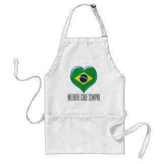 ブラジルCORAÇÃO Charme スタンダードエプロン
