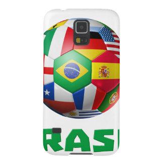 ブラジルFutebol Galaxy S5 ケース