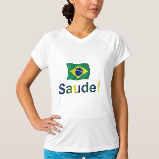 ブラジルSaude! Tシャツ