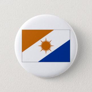 ブラジルTocantinsの旗 缶バッジ