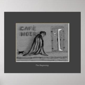 ブラックコーヒー -- 始め ポスター