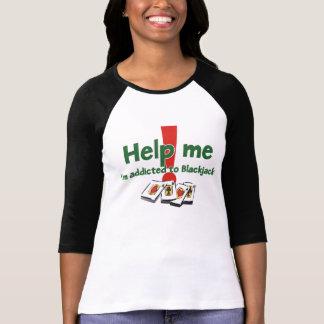 ブラックジャックの女性のraglanのTシャツ Tシャツ