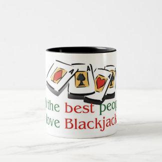 ブラックジャックの恋人2の調子のマグ ツートーンマグカップ