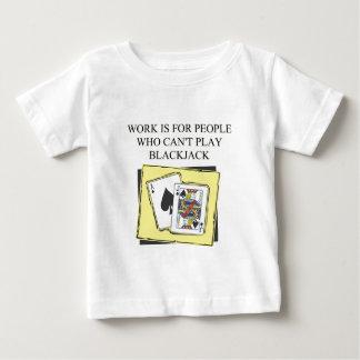 ブラックジャックプレーヤーの歓喜 ベビーTシャツ