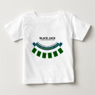 ブラックジャック盤面デザイン1 ベビーTシャツ