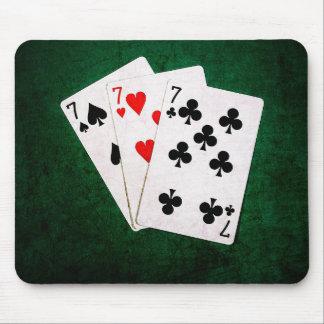 ブラックジャック21 - 7、7、7 マウスパッド