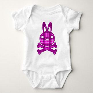 ブラックジャック(ウサギ) ベビーボディスーツ