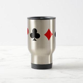 ブラックジャック/トランプのポーカーカードスーツ: ベクトル芸術: マグ