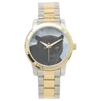 ブラックパンサーのヒョウ属 腕時計